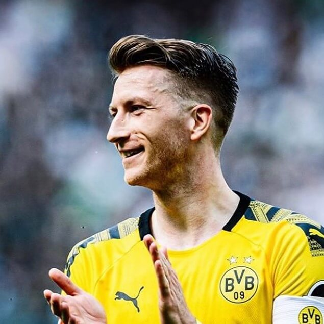 marco reus new haircut