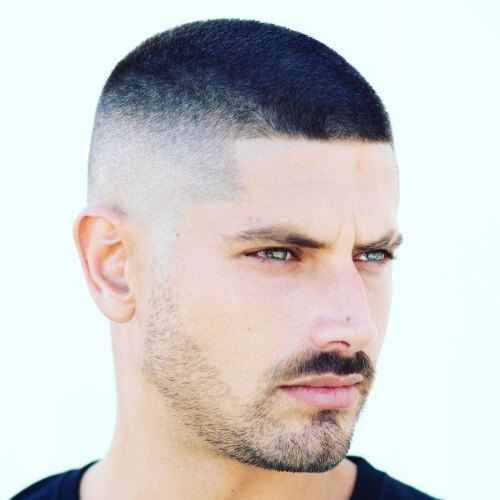 mexican buzz cut fade