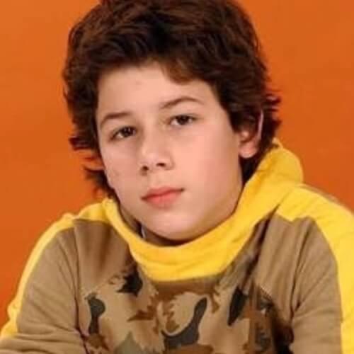 nick jonas teen boy haircut