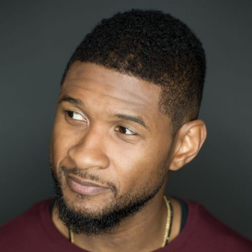 usher new hair fade haircuts
